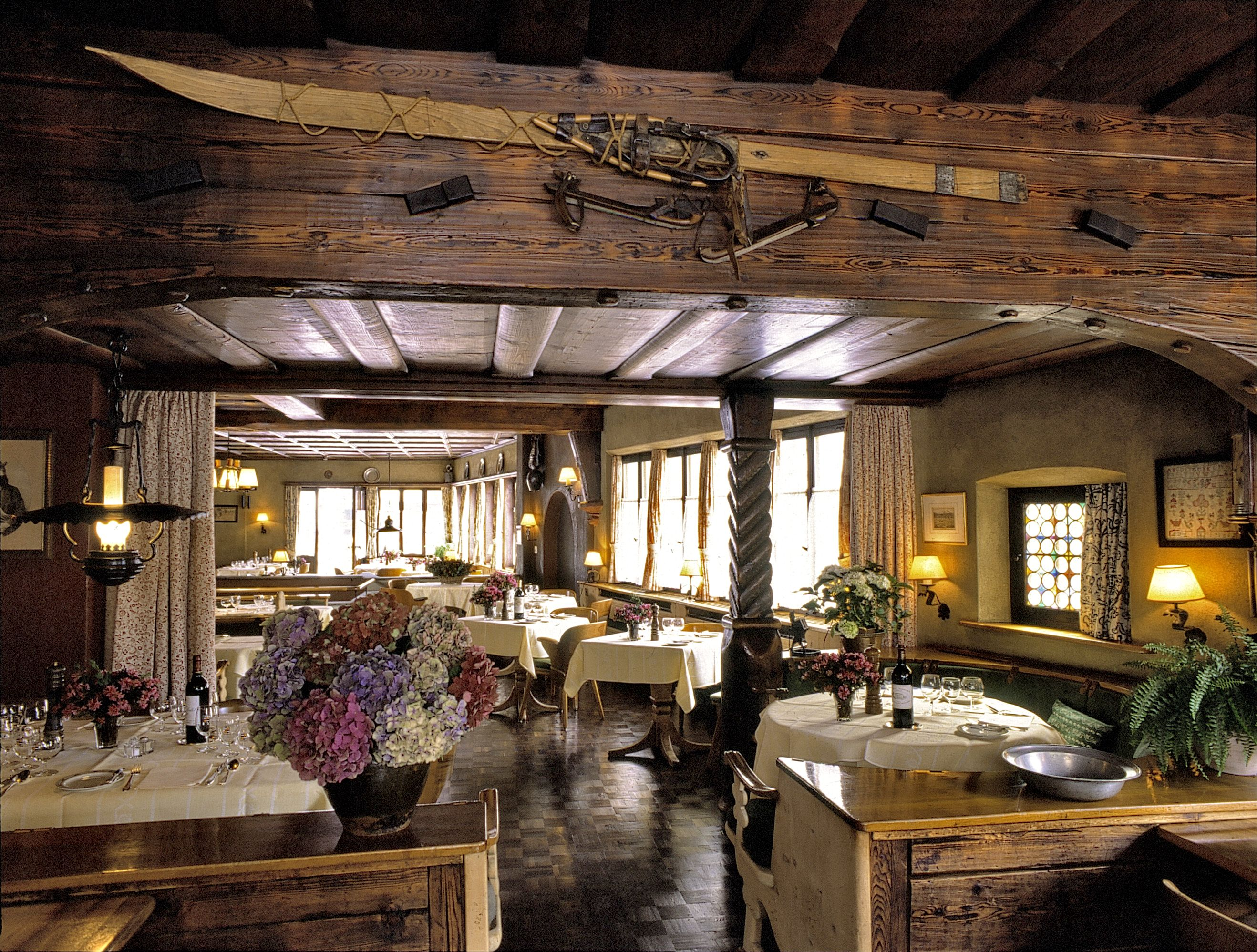Cucina Arte Bern Dining Room At The Chesa Grischuna Klosters People Places And