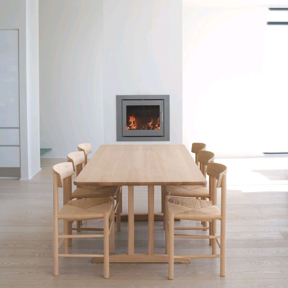 This Is Børge Mogensens C Shaker Table With  Of His J Chairs - Shaker dining room chairs
