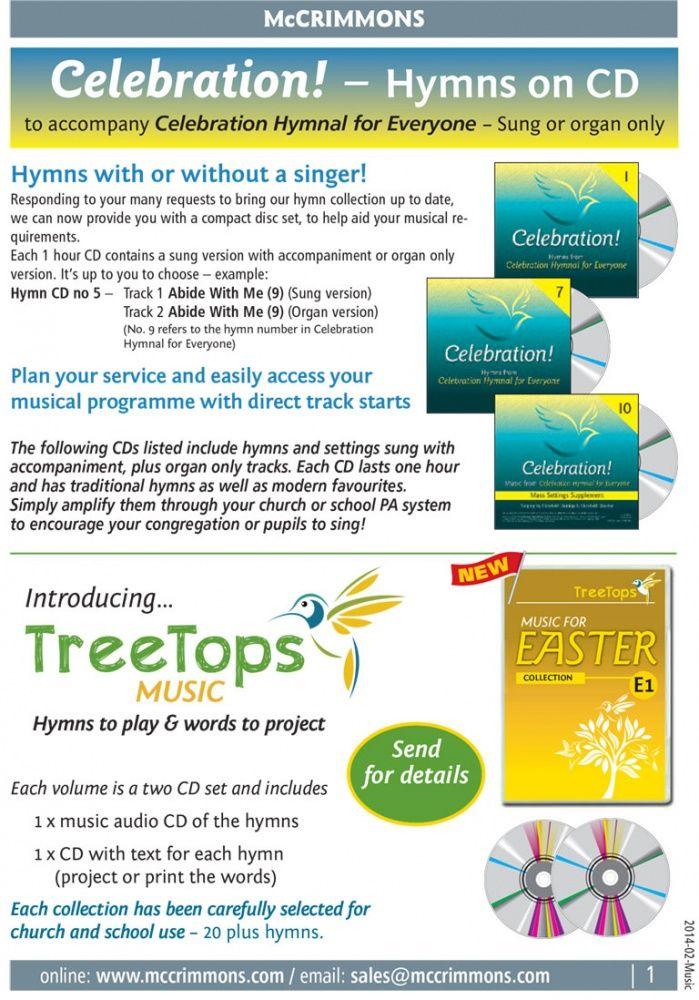 09 - Brochure Celebration! - Hymns on CD FREE PDF download