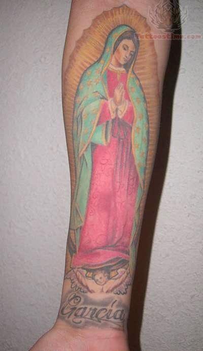 Virgen De Guadalupe Tattoo Tattoos Pinterest