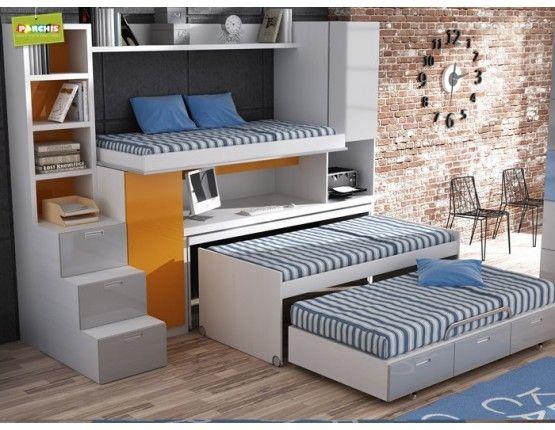 - Dormitorios juveniles espacios pequenos ...