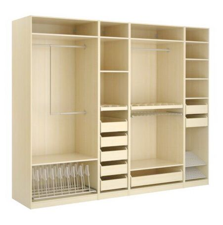 Garderobekast Indeling Wardrobe Closet Storage Ikea Built In