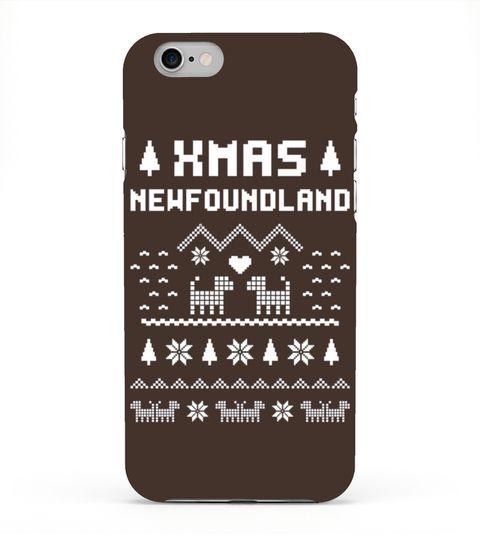 Kids Newfoundland Funny Christmas T Shirt - Xmas Dog Gift Ideas 8