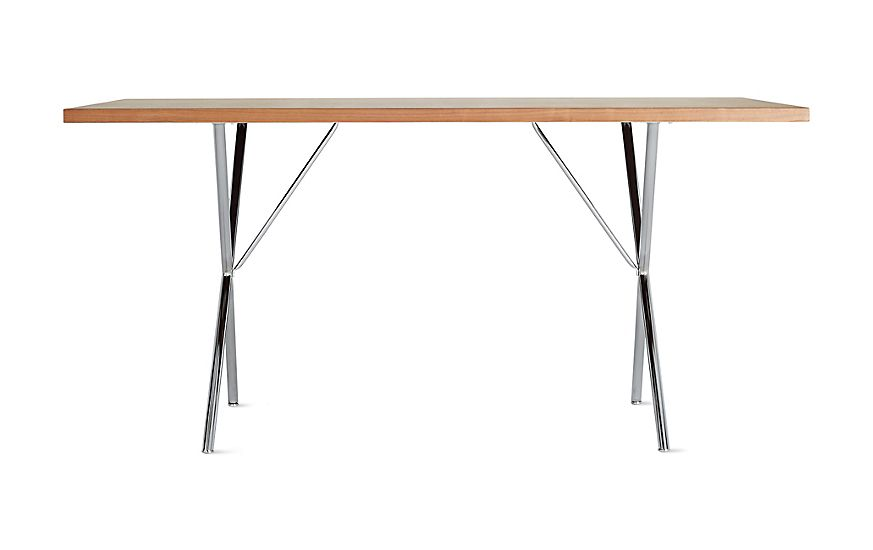 Nelson Nelson X Leg Dining Table Santos Palisander 36 X 72 By