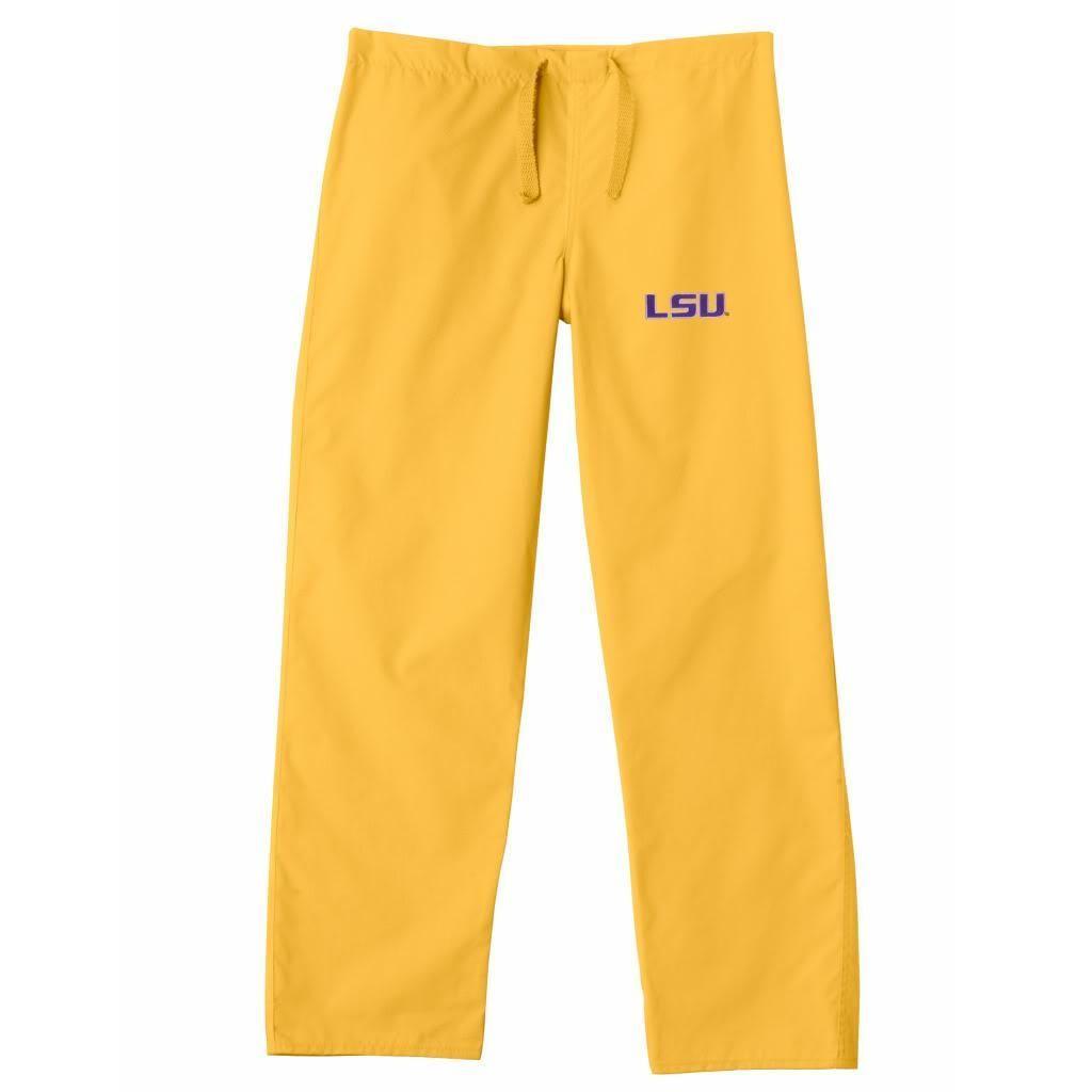 Gelscrub Unisex LSU Tiger Scrub Pants