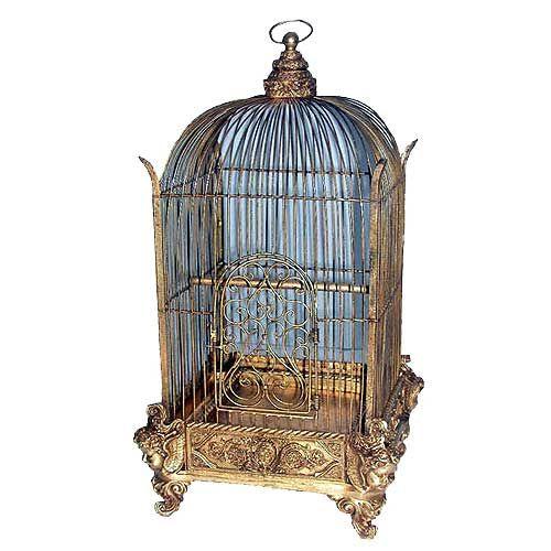 Bird Cage Gold Victorian Birdcage