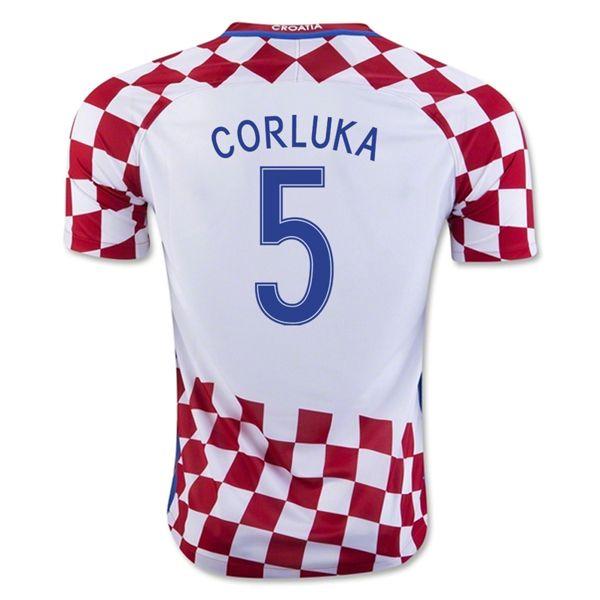 Vedran Corluka 5 2018 Fifa World Cup Croatia Home Soccer