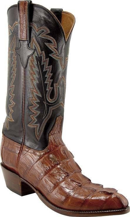 73b1ee6c242 Lucchese Men's Classic Horn-back Caiman Crocodile Boot - L1326 ...