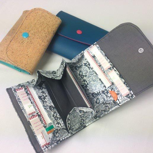 Portemonnaie | Nähwerk | Pinterest | Kostenlos, Schnittmuster und Nähen