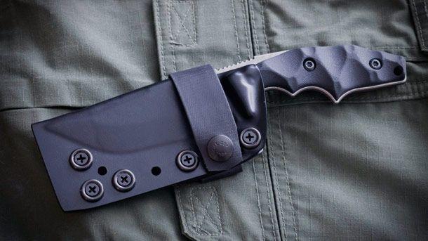 Bawidamann FN Limited Edition Knife   нож с фиксированным клинком лимитированной серии