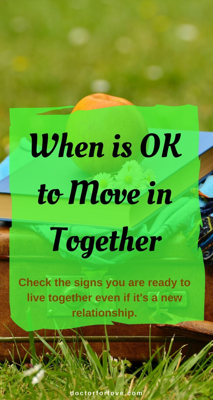 When is the right time to move from dating to a relationship
