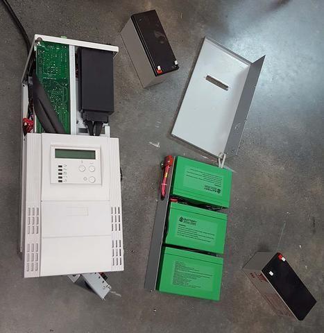 Sealed Lead Acid To Lithium Iron Phosphate UPS Battery