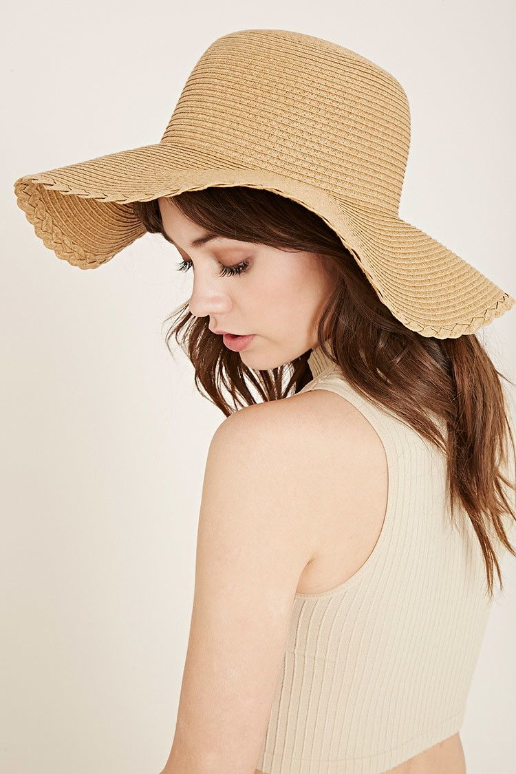ad27f155 Straw Floppy Hat | Forever 21 - 2000170085 Wide-brim Hat, Boater Hat,
