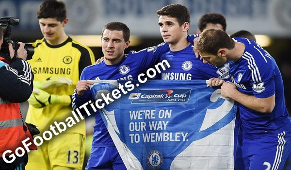 Chelsea have secured their place for the Capital One Cup final with the help of Branislav Ivanovic's goal in extra-time, as they beat Liverpool by 1-0 in the second leg of semi-final. The Blues will face Tottenham Hotspur or Sheffield United in the final at Wembley Stadium on 1 March, Spurs and Sheff Utd will play their semi-final second leg today at Bramall Lane Stadium. Capital One Cup Final 2015 Tickets are available at GoFootballTickets.com with the best prices and great customer…