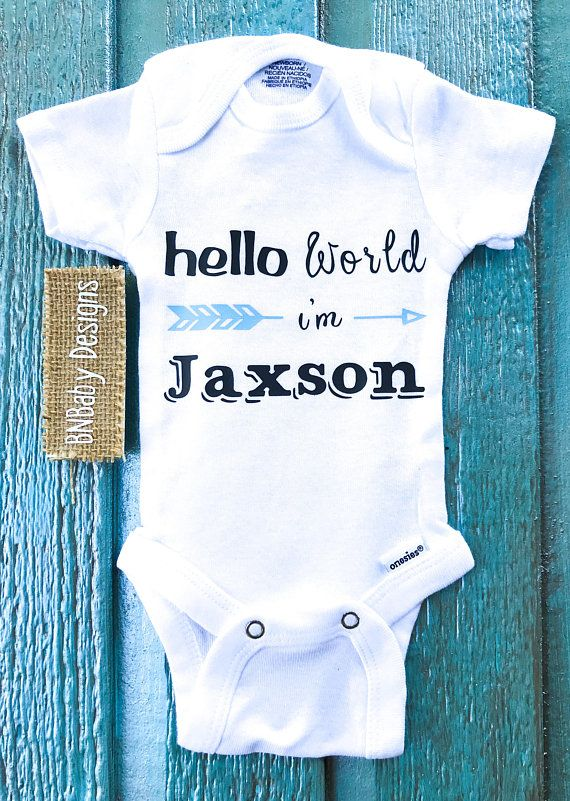 5aa5699f4 Hello world onesie