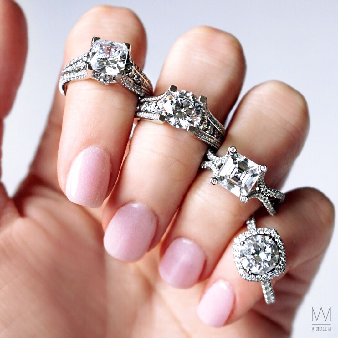 MichaelM Engagement Rings ~ Shop #CapriJewelers #Arizona for unique ...