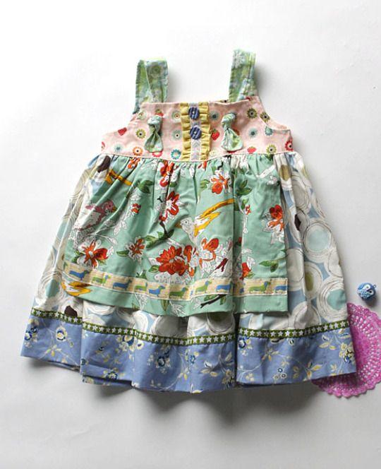Art in the Park Knot Dress (PLATINUM) *size 4*
