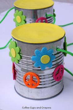How to Make Tin Can Stilts for Kids