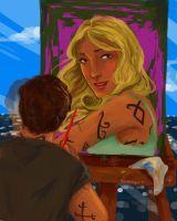 Painting Emma by lizthefangirl