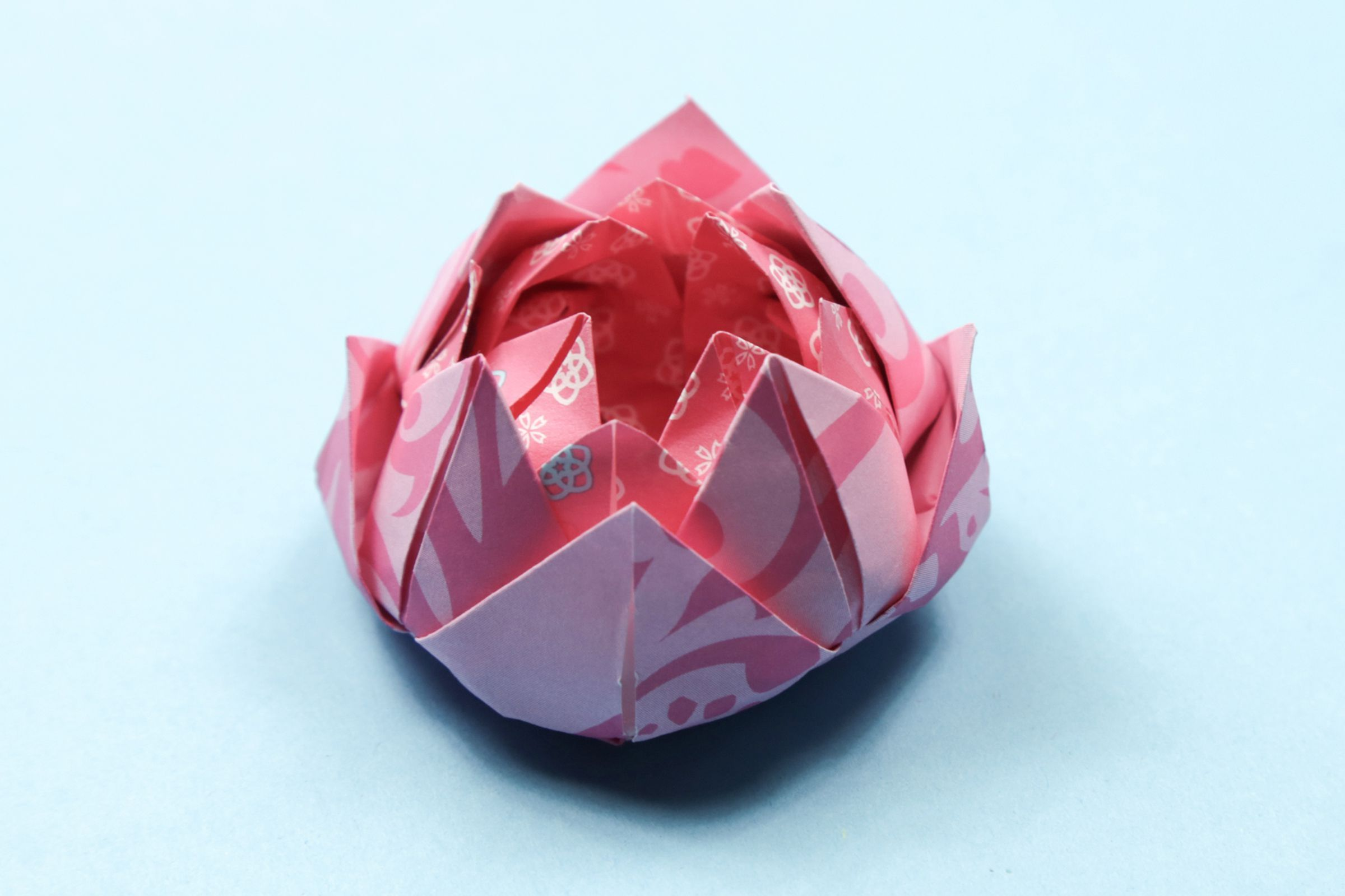 Easy Origami Lotus Tutorial Origami Lotus Flower Paper Origami Flowers Origami Easy