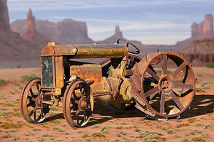 Tractor Photograph - Fordson Tractor by Mike McGlothlen