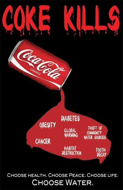 Go paleo - quit sugar & sweeteners! Coke kills