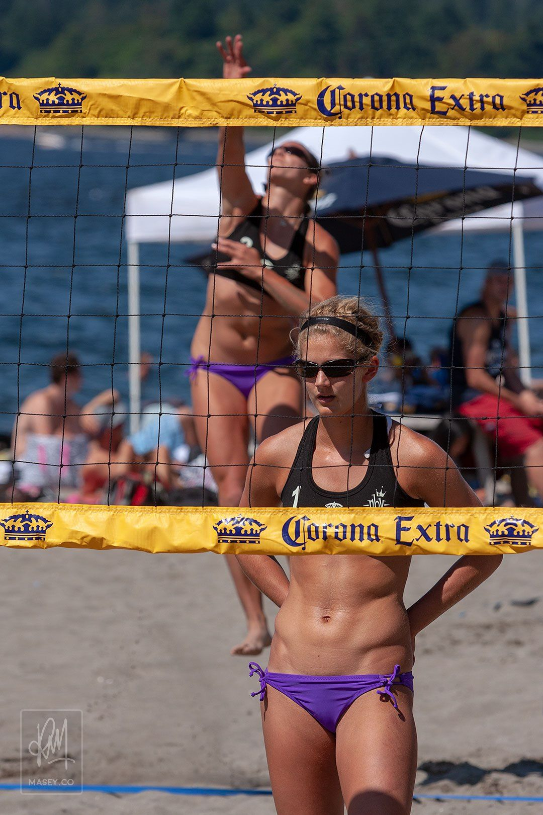 2009 Corona Open Beach Volleyball In 2020 Beach Volleyball Volleyball Outfits Olympic Gymnastics