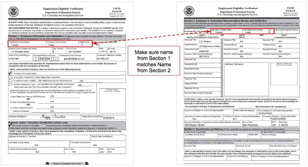 Form I-12 Family Name Ten Quick Tips Regarding Form I-12