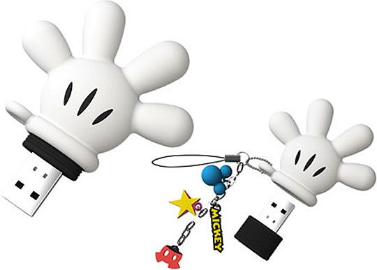 Mickey Mouse Glove Usb Flash Drive With Images Usb Flash