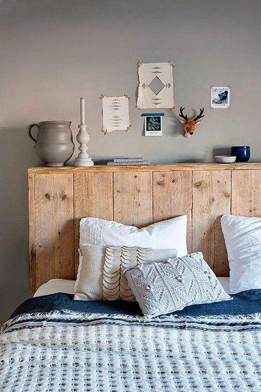 Aprovechar la pared del cabecero con un murete-repisa | Dormitorio ...