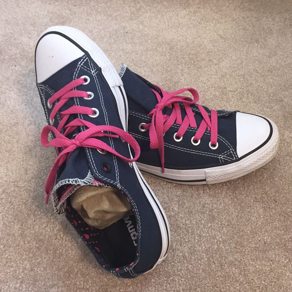 search for genuine selected material cheap for sale Converse Shoes | Converse Navy Blue Heart Lining | Color ...