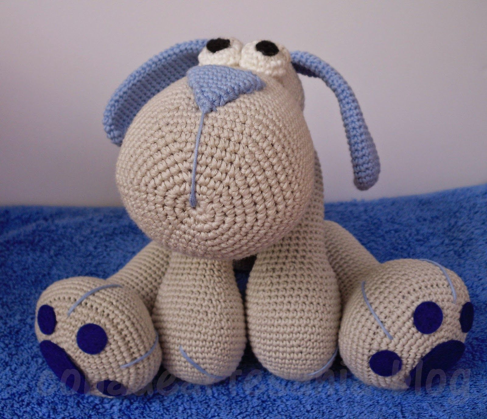 con A de artesanía: Amigurumi perrito Leopoldo | amigurumi puppies ...