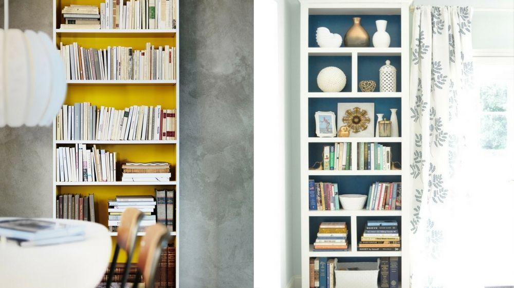 Ikea Hacks : 4 idées pour customiser ses étagères Billy   Etagere billy, Ikea, Déco maison