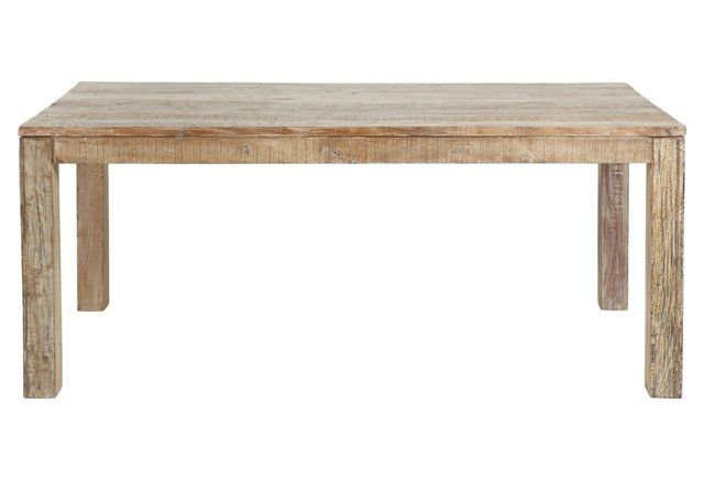 Bellview 60 Reclaimed Teak Dining Table Reclaimed Wood Dining Table Teak Dining Table Farmhouse Dining Room Table