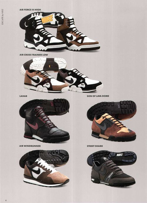outlet store d5e8d 0232e Nike Escape catalog image Footwear, Sneakers, Retro, Nike, Shoes, Trainers,