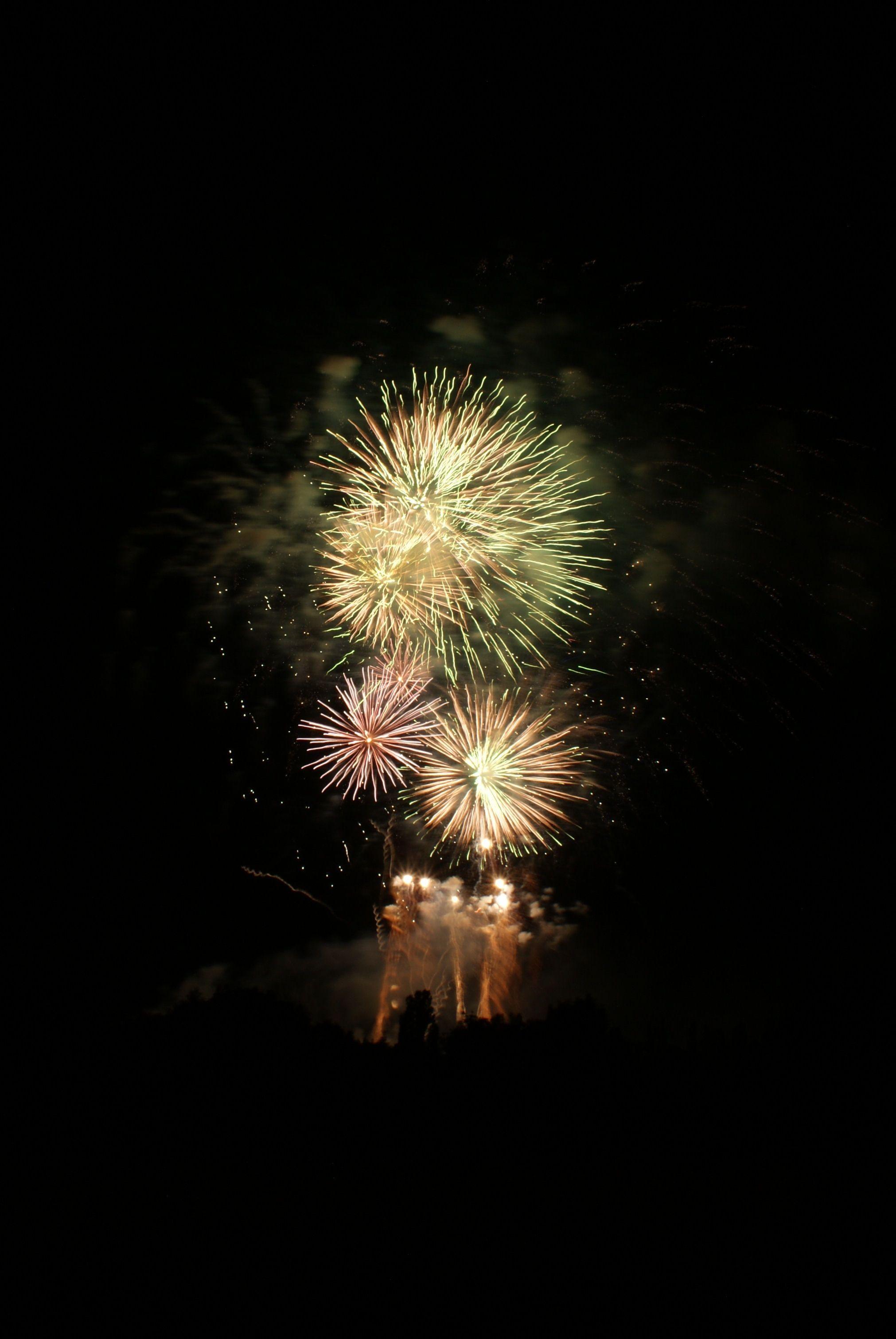 Feuerwerk auf dem Schützenfest 2014 in Goslar