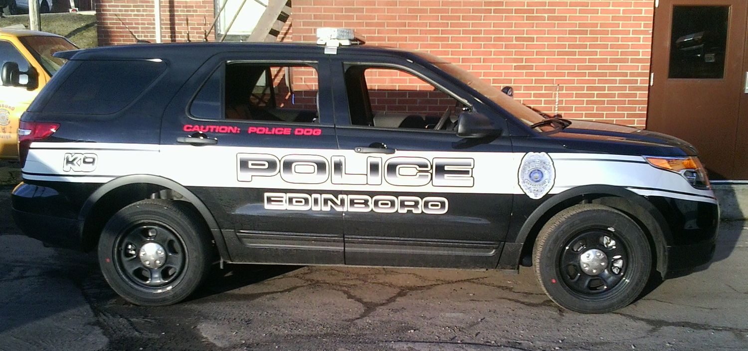 Edinboro Pd K Ford Edge