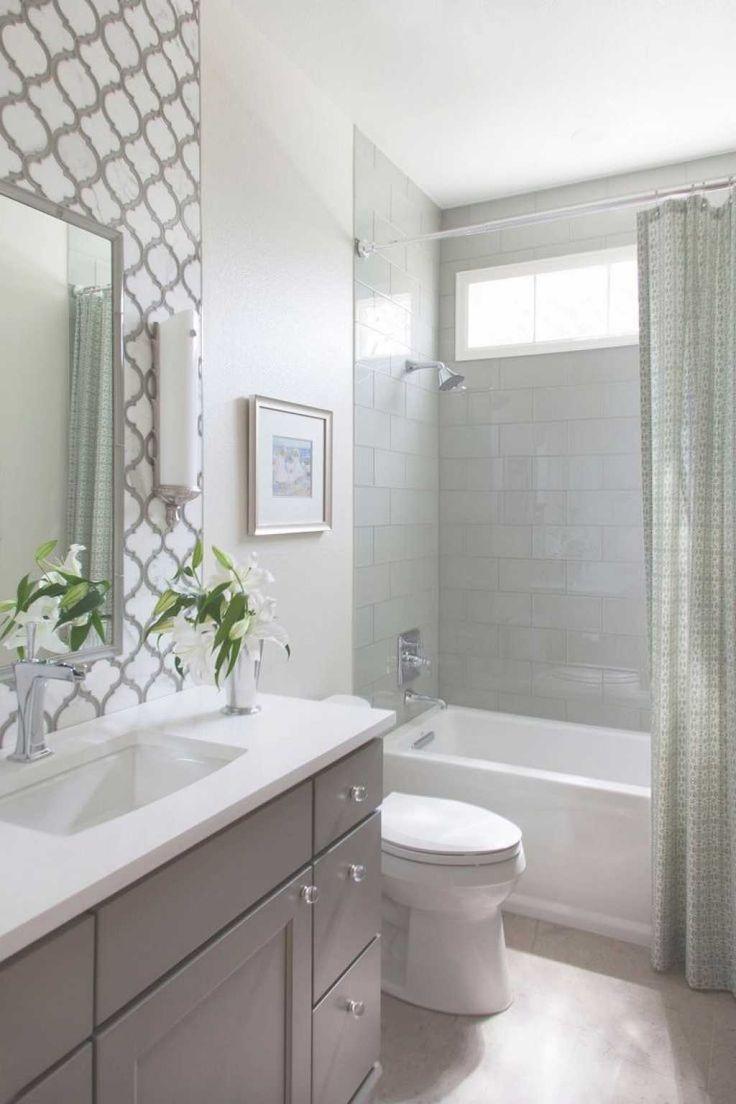 Bathroom: Popular Small Bathroom Remodels With Corner Shower Beside ...