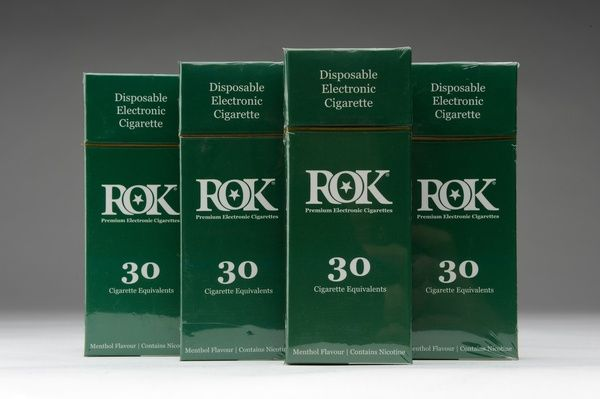ROK disposable electronic cigarettes