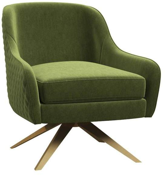M O D Kalisa Contemporary Swivel Accent Chair Armchairs Accent