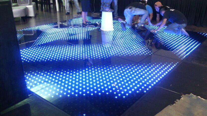 LED dance floor, for disco, bar, wedding rental, event