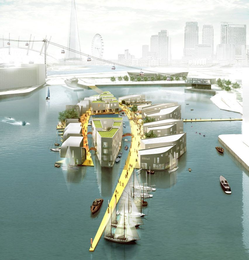 Baca Architects Proposes Floating Homes Combat