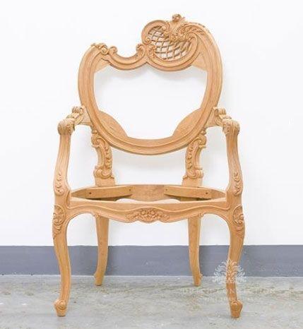 Baroque Style Armchair / Neo Rococo Armchair / Dutch Connection ...