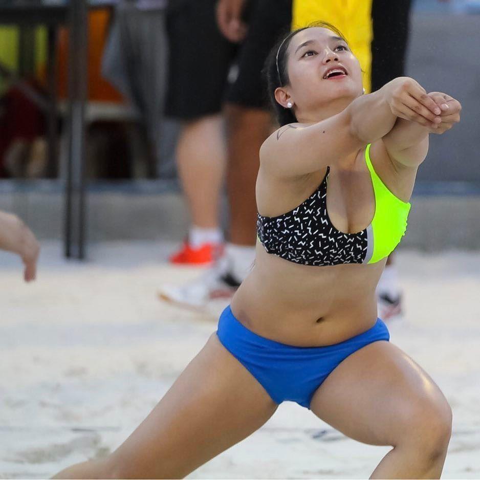 Pin By Devon Marl Quincy Jocson On Volleyball Players Philippine Women Beach Volleyball Korean Model