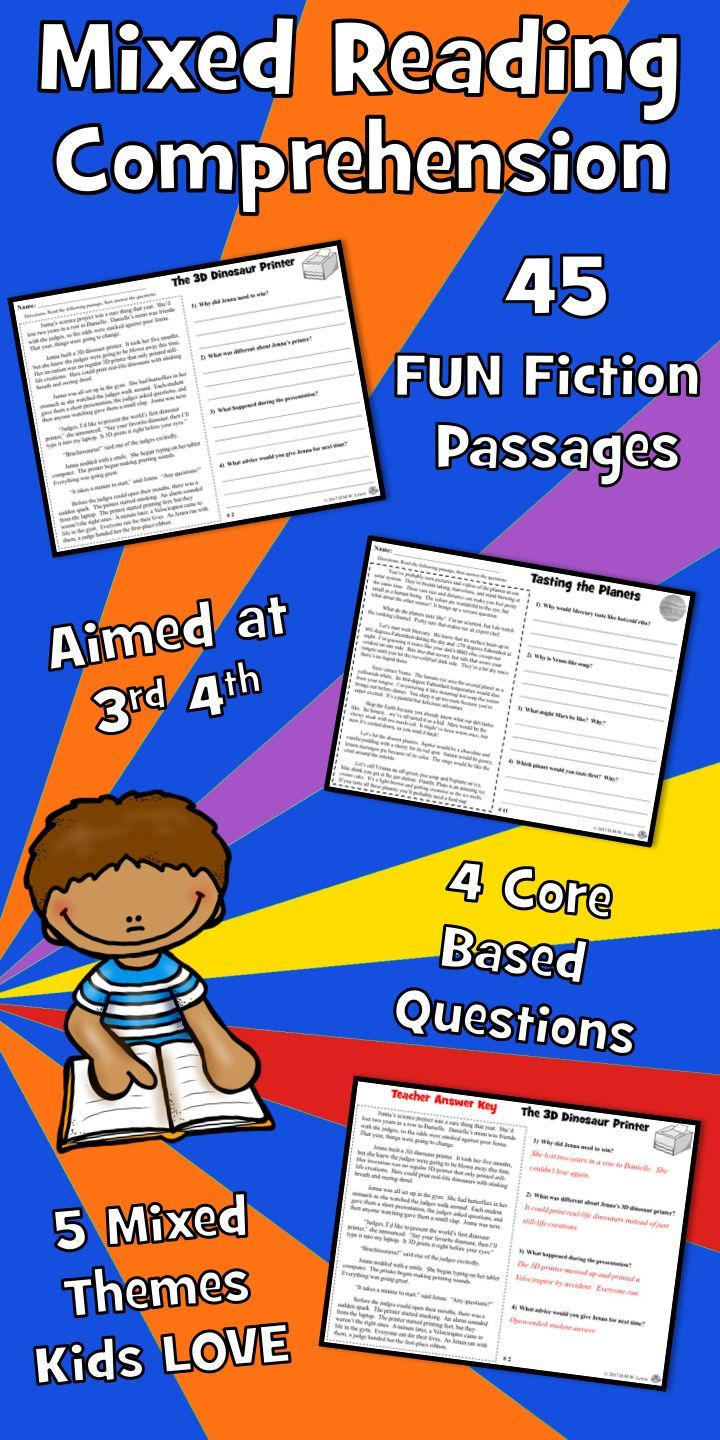 Need Summer Reading Comprehension Passages That Students Love 45 Mixed Readi Reading Comprehension Summer Reading Comprehension Reading Comprehension Passages [ 1440 x 720 Pixel ]
