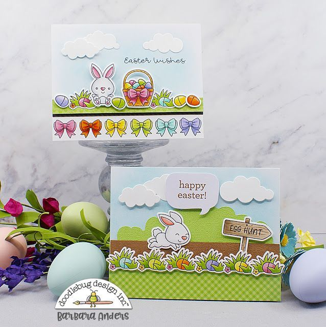 Hoppy Easter with Doodlebug Stamps & Dies