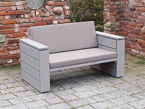 Loungemöbel Set 2 Holz, inkl. Polster - Lieferung komplett montiert