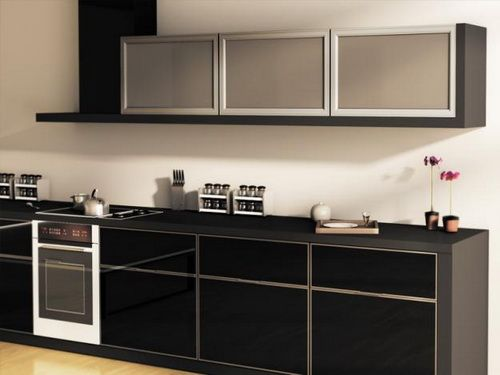 Black Glass Kitchen Cabinets Google Search Glass Kitchen Cabinets Glass Kitchen Cabinet Doors Glass Cabinet Doors