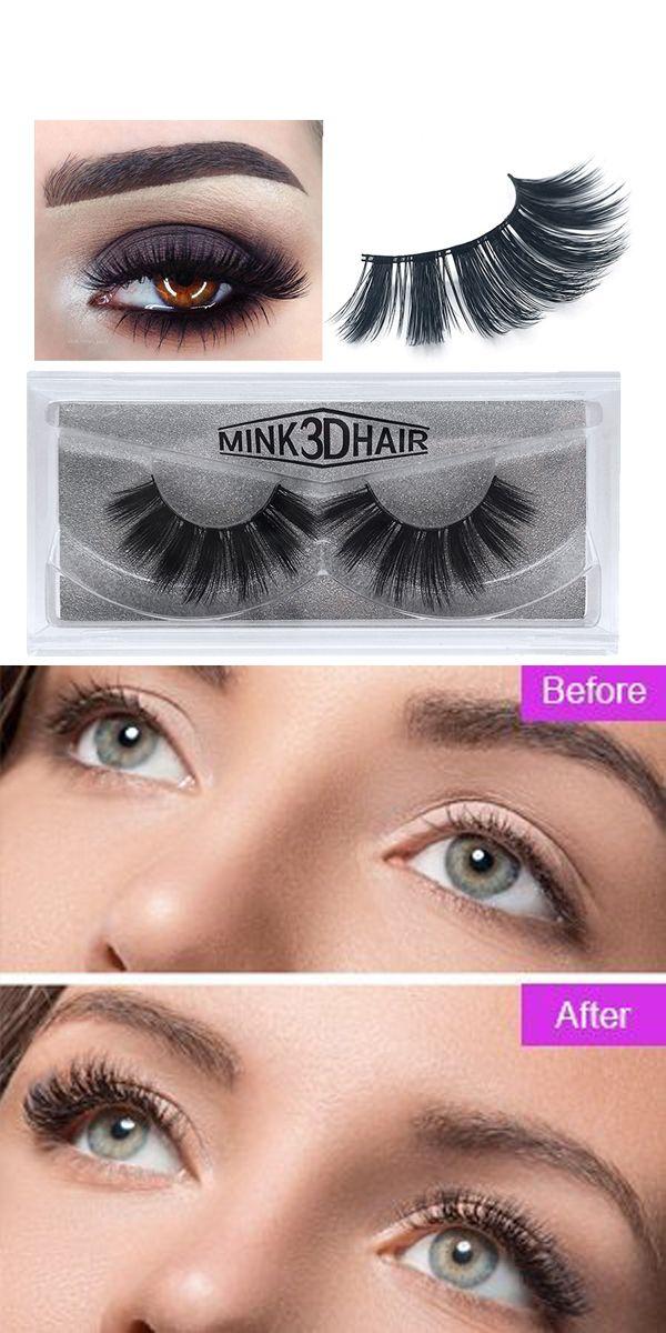 3D Reusable Soft & Thick False Eyelashes | False eyelashes ...