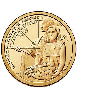 2014-S Native American Dollars Proof $1 Sacagawea